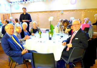 Annual Dinner of the Friends of St.George's